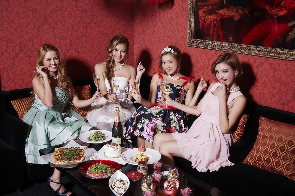 大人数のブライダルパーティから、女子会や誕生会などの小パーティまで、多様なプランへの対応が可能。