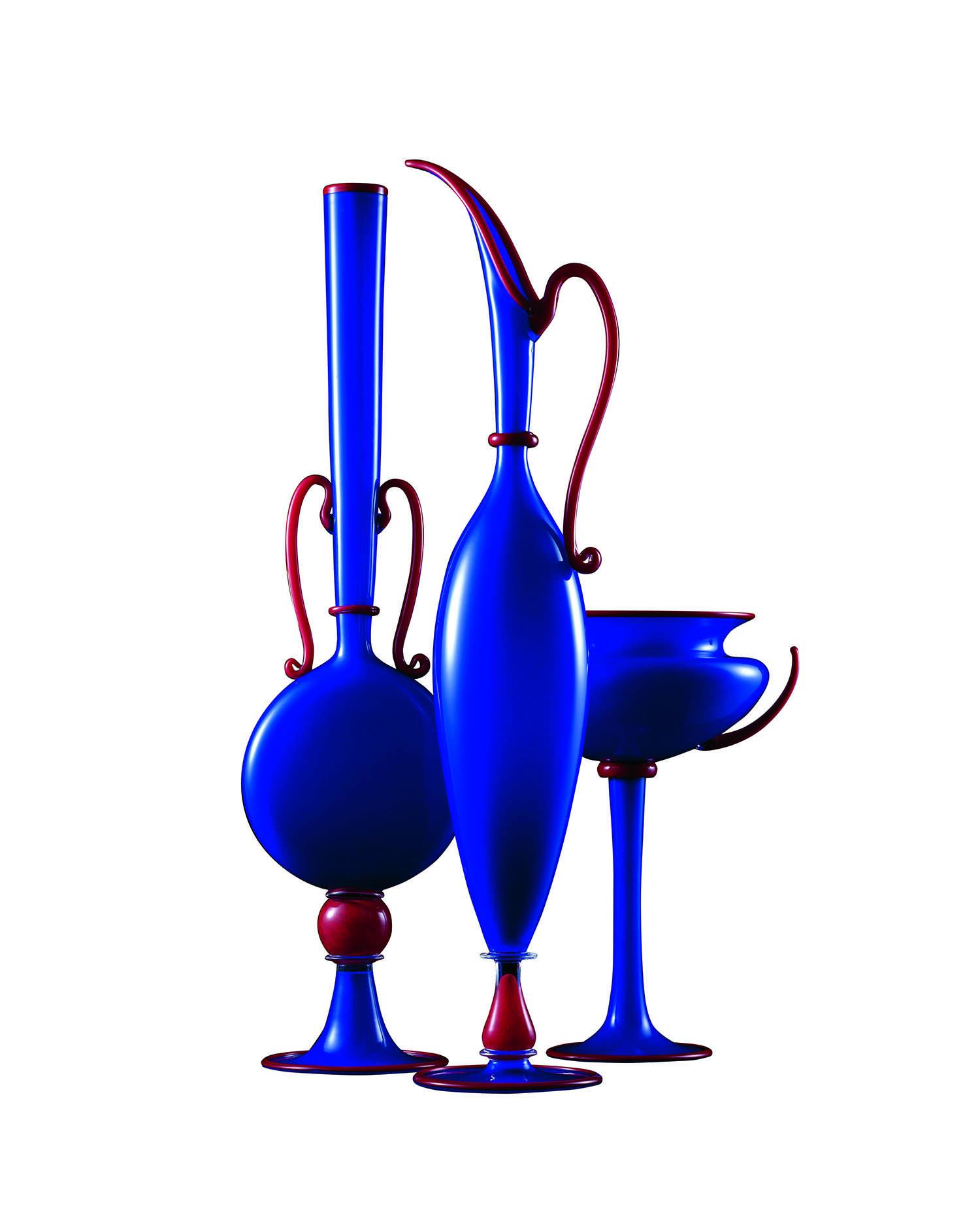 ダンテ・マリオーニ《ブルー・トリオ》1997年 東京国立近代美術館蔵