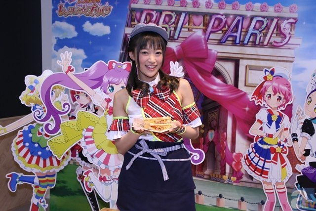 茜屋日海夏さんが「プリパラカフェ」の一日店長に就任!