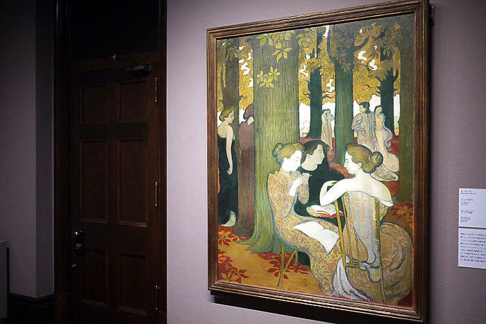 モーリス・ドニ《ミューズたち》1893年│オルセー美術館