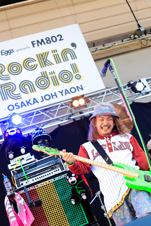 Rockin'Radio! / WANIMA 写真提供:FM802  撮影:JP