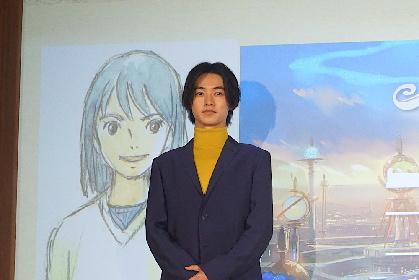 山﨑賢人・アニメ映画『二ノ国』で声優初挑戦!「鳥肌が立つほど素晴らしい作品。全力で頑張ります!」