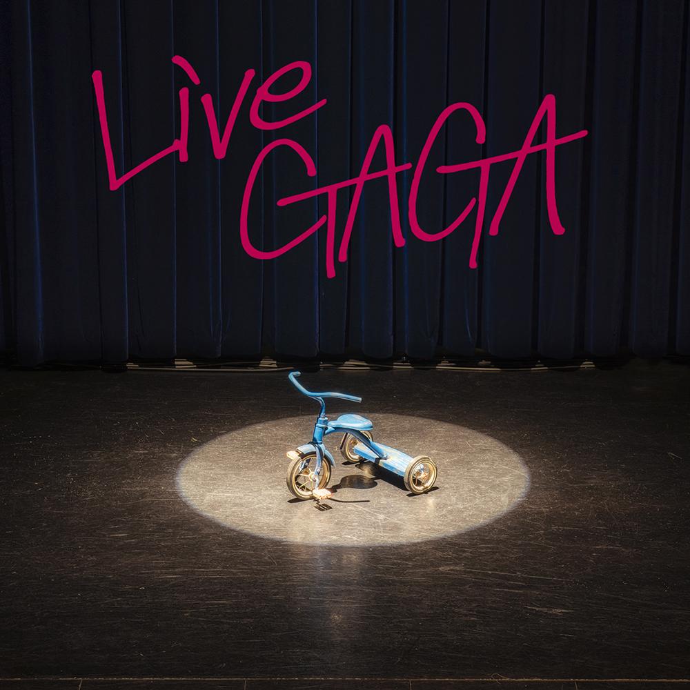 「LIVE GAGA」配信ジャケット