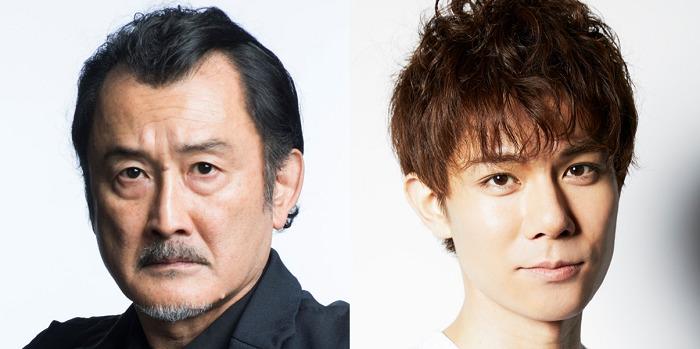 (左から)吉田鋼太郎、 柿澤勇人  (C)ホリプロ