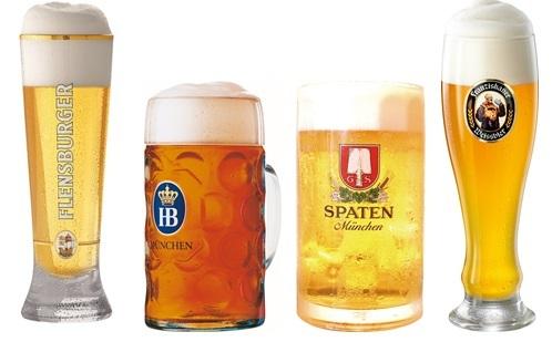 ドイツ公式ブリュワリーのビールも!
