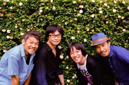 フラワーカンパニーズ、ニューアルバム『50×4』のビジュアル解禁 カメラマンは田島貴男