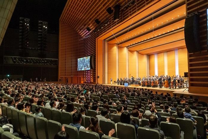 ホールA「0歳からのコンサート」過去開催時の様子