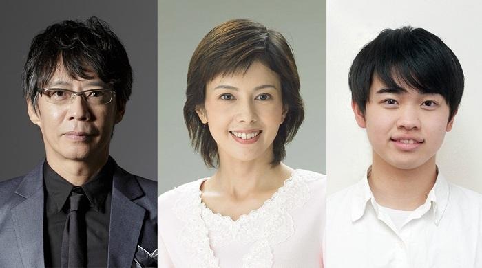 (左から)生瀬勝久、沢口靖子、小柴陸(関西ジャニーズJr.)