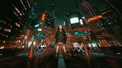 EXiNAの1st Single「DiViNE」岸田メルによる描きおろしアニメジャケット公開