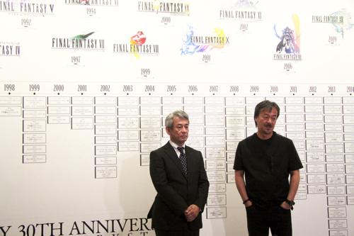 (左から)橋本真司、坂口博信