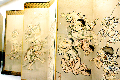 """河鍋暁斎『これぞ暁斎!』展レポート """"大真面目にふざける""""天才絵師の画才とユーモアが炸裂する"""