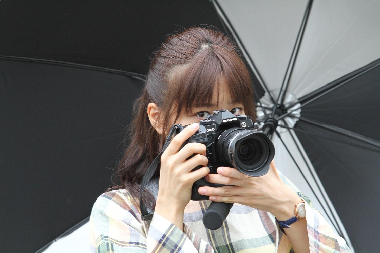 映画『おもいで写眞』メイキングカット (C)「おもいで写眞」製作委員会
