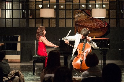 若手チェリスト伊藤悠貴が『サンデー・ブランチ・クラシック』初登場! 福原彰美と奏でる秋の調べ