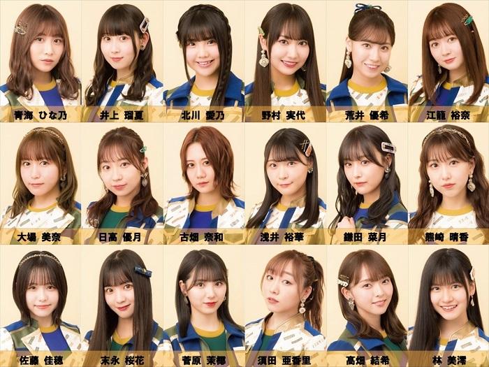 SKE48選抜メンバー