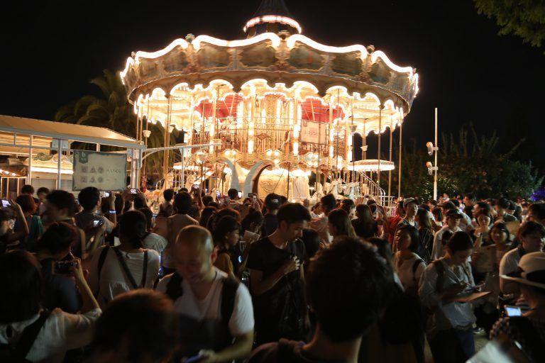 『竜の夜からの脱出』大阪公演のようす
