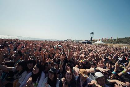 2万1,855人が熱狂!初夏のビーチフェス『JAPAN JAM BEACH 2016』が閉幕