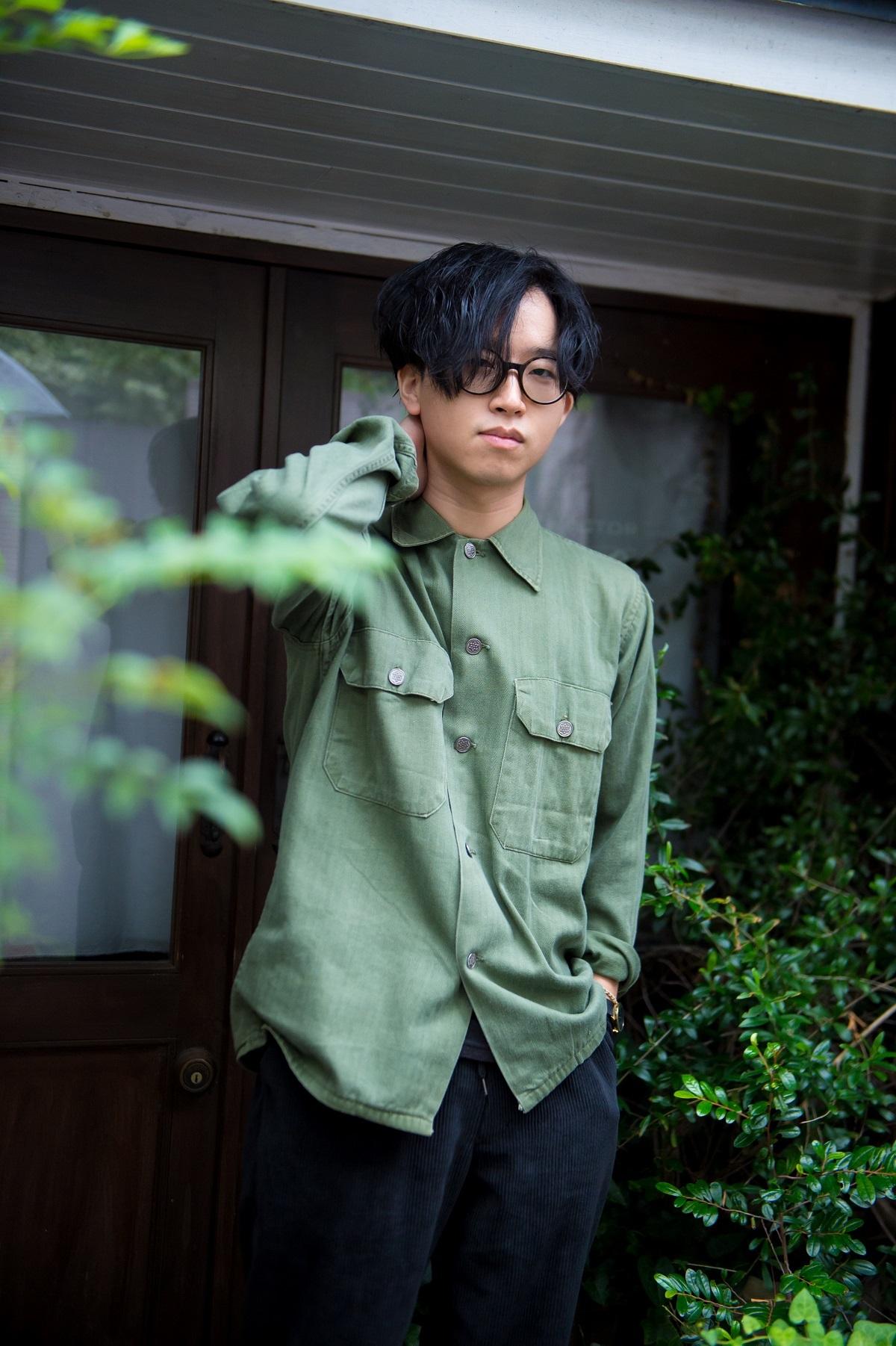 the engy/藤田恭輔(Gt,Cho,Key) 撮影=鈴木 恵