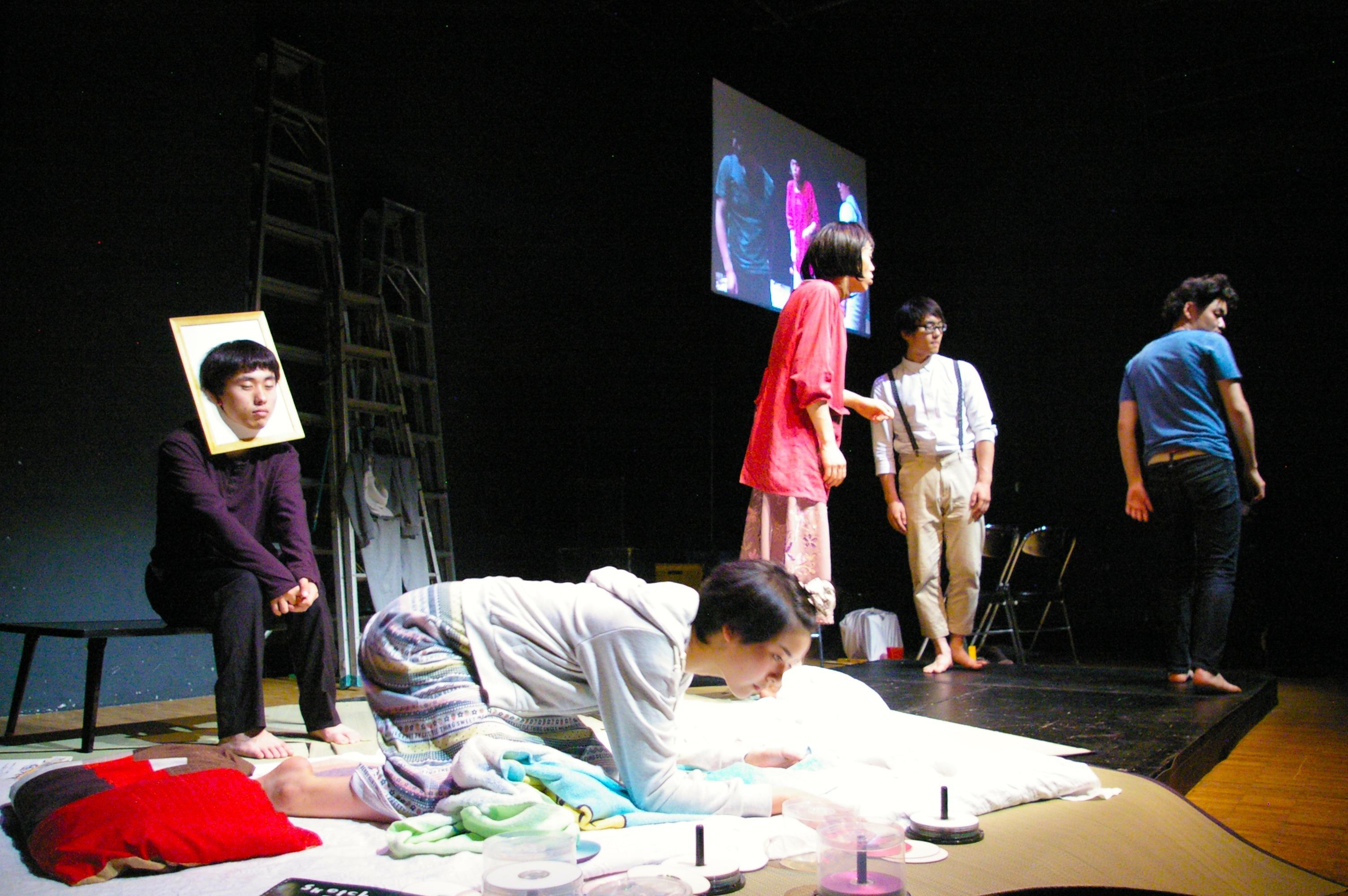 (劇)ヤリナゲ『非在』(2014年、王子小劇場)