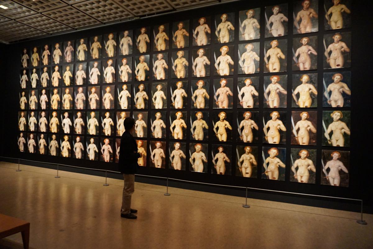 レイラ・パズーキ / Leila Pazooki《ルカス・クラーナハ《正義の寓意》1537年による絵画コンペティション》2011年 作家蔵