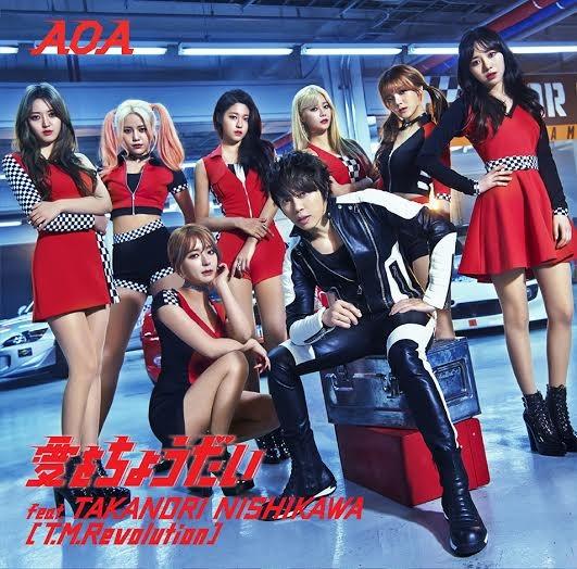 AOA「愛をちょうだい feat.TAKANORI NISHIKAWA(T.M.Revolution)」