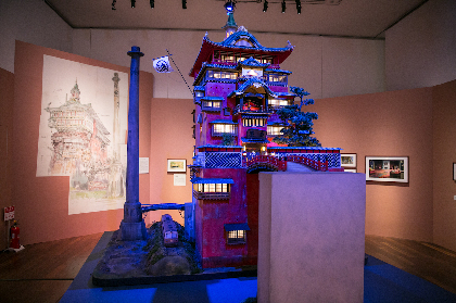 """ラピュタ、トトロ、千と千尋の""""あの建物たち""""を一挙公開! 『ジブリの立体建造物展』をレポート"""