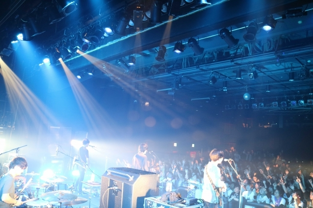 """androp 『ZIP-FM""""HOT SHOT THE LIVE"""" androp×きのこ帝国』"""