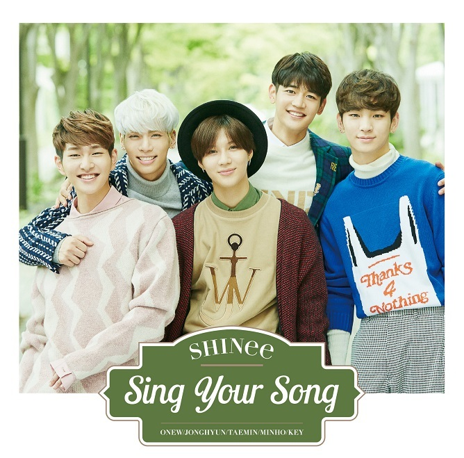 SHINee/シングル「Sing Your Song」(通常盤)