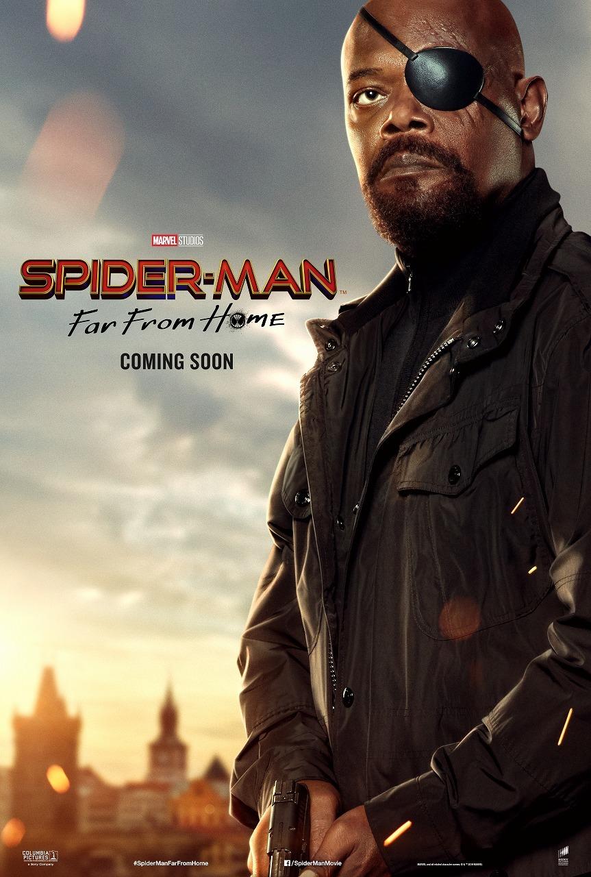 『スパイダーマン:ファー・フロム・ホーム』ニック・フューリー(サミュエル・L・ジャクソン)