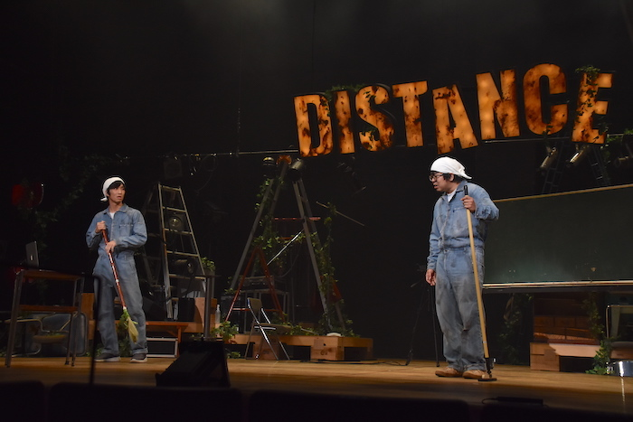 永島敬三(左)、川尻恵太