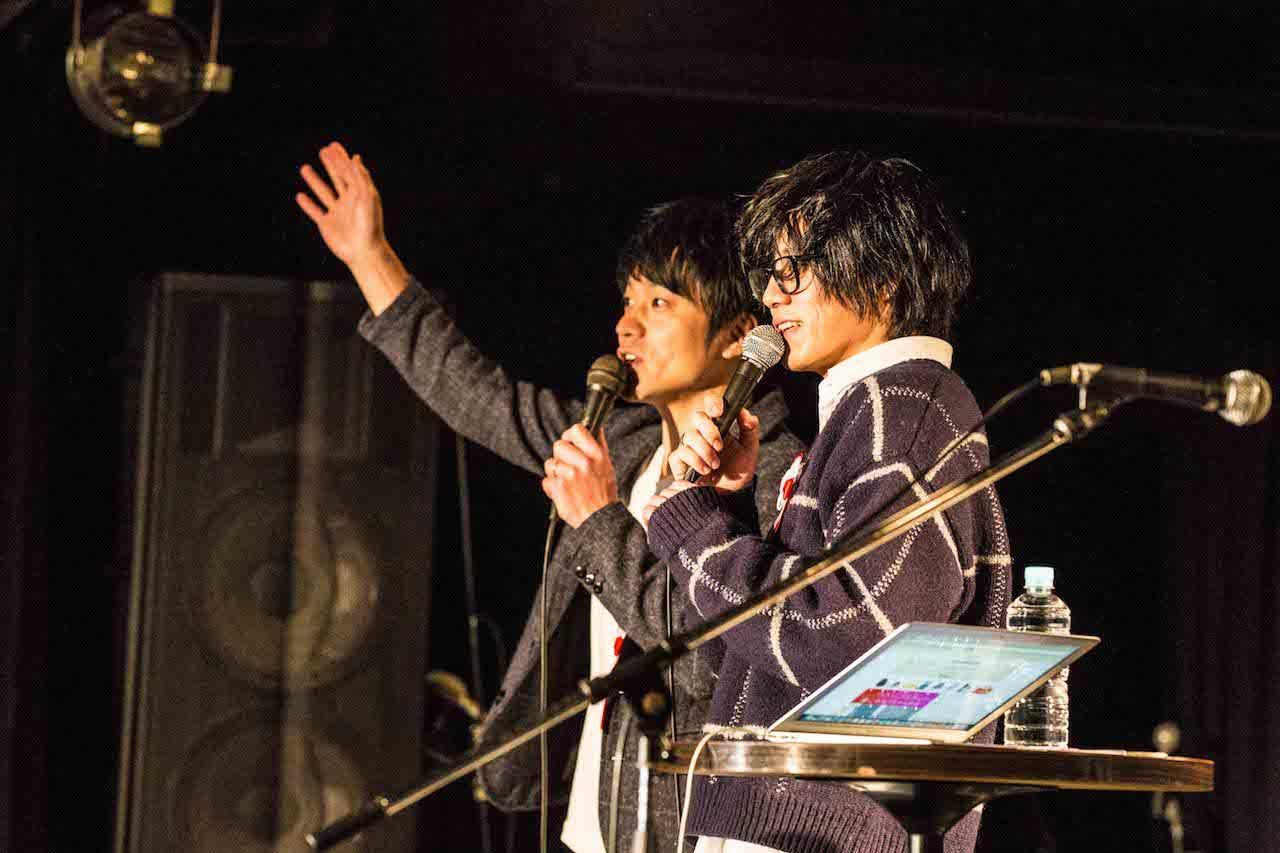 左:飯室大吾(FM802) 右:松本大