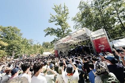 10回目の「りんご音楽祭」キックオフイベントにWONK、ハバナイ、ENTHら11組