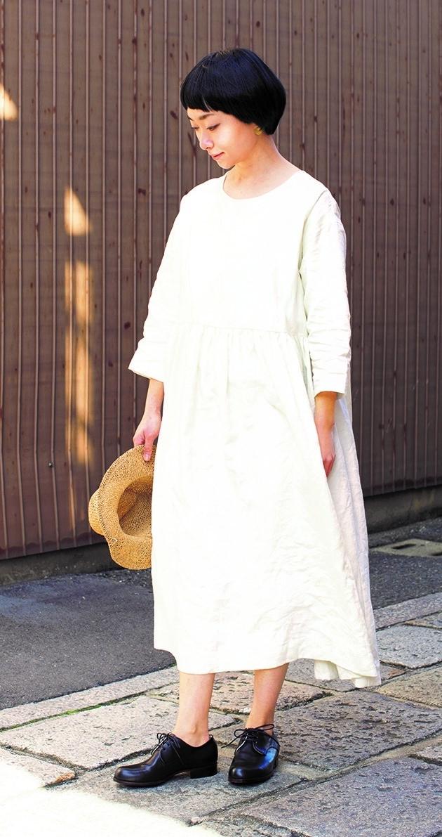 美濃羽まゆみ「着心地のよい、 暮らしの服」日本ヴォーグ社