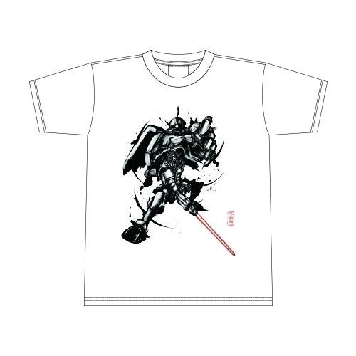 「武人画×機動戦士ガンダム Tシャツ(宿命の閃刀)」