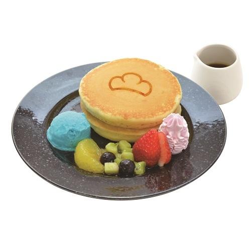 6つ子のパンケーキ (700円) ※アニメイトカフェショップ新宿限定での提供となります