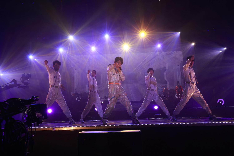 ONO DAISUKE LIVE 2021: A SPACE ODYSSEYライブ写真(撮影:草刈雅之)