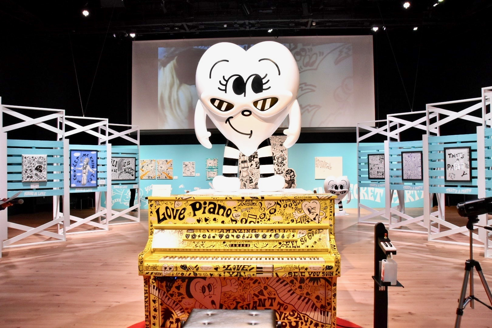 『Chocomoo EXHIBITION -OUR SECRET PARTY- Supported by WITH HARAJUKU』