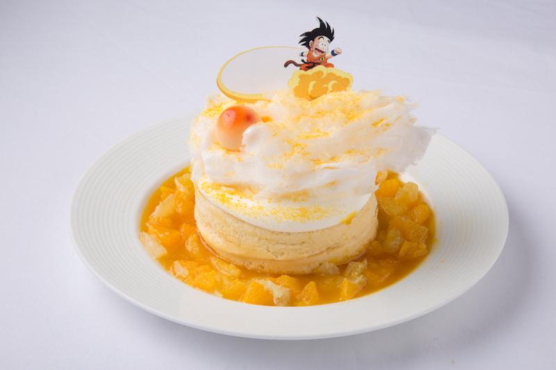 『筋斗雲よーいっ!』フルーツたっぷり!ふわふわ筋斗雲パンケーキ  1,400円(税別)