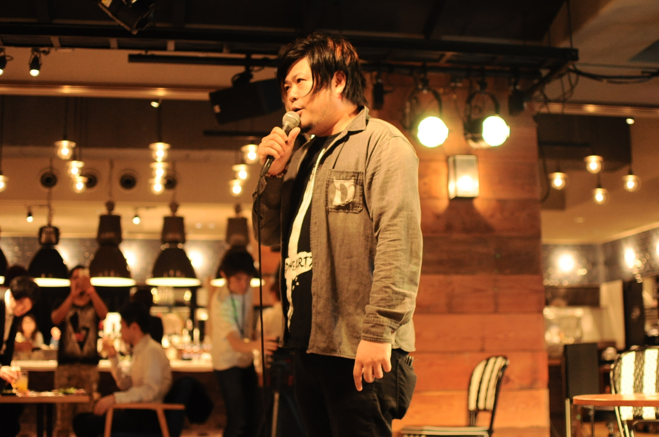 秤谷建一郎  Photo by Taiyo Kazama