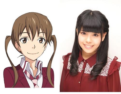(左から)笹島迅子、松田颯水 (C)杉基イクラ/KADOKAWA  (C)7○3×クイズ研究会