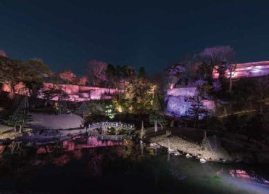 金沢城がピンク・フロイドで染まる、音と光のスペクタルショー