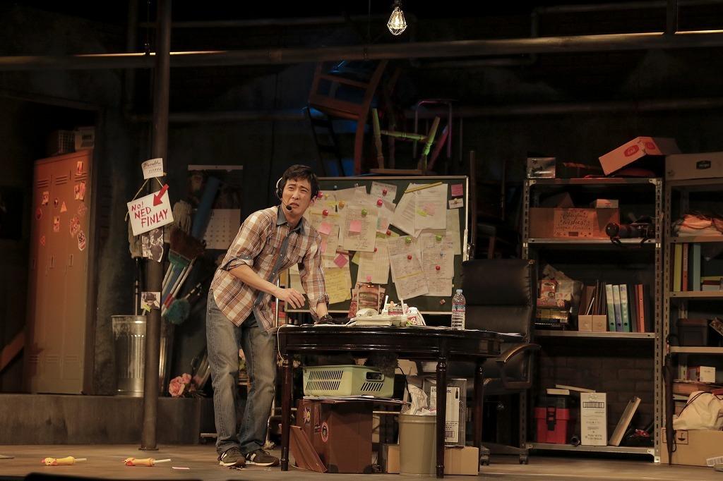『フリー・コミティッド』公開舞台稽古より 撮影:西村淳