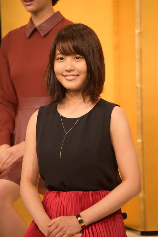有村架純。写真はNHK朝の連続テレビ小説「ひよっこ」出演者発表時のもの。