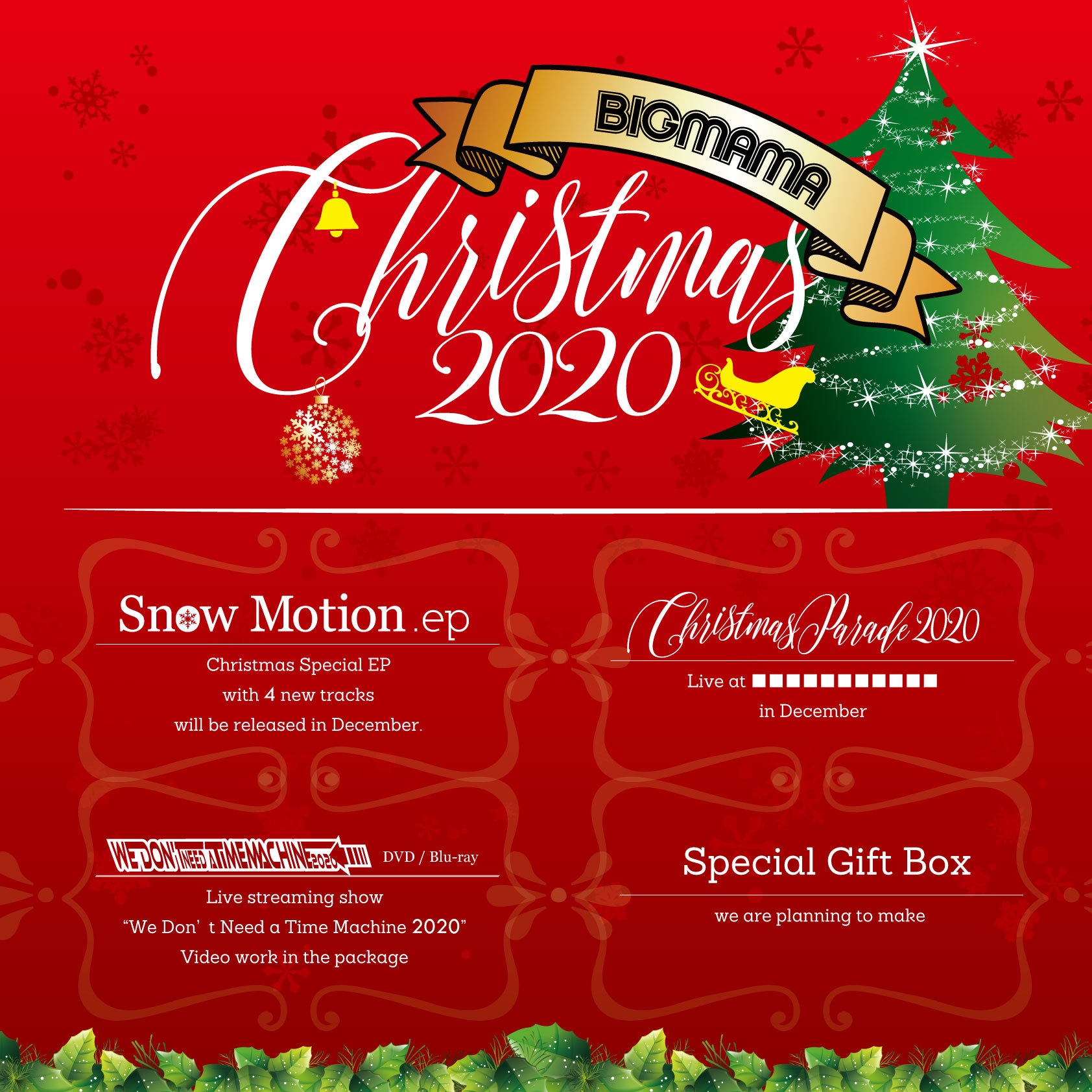 『BIGMAMA Christmas 2020』