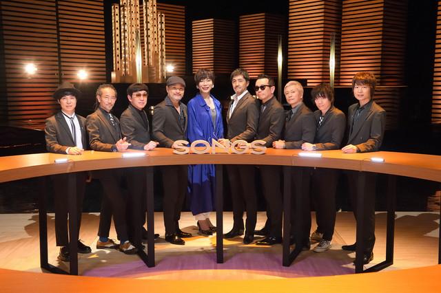 東京スカパラダイスオーケストラとミッツ・マングローブ(左から5番目)。(写真提供:NHK)