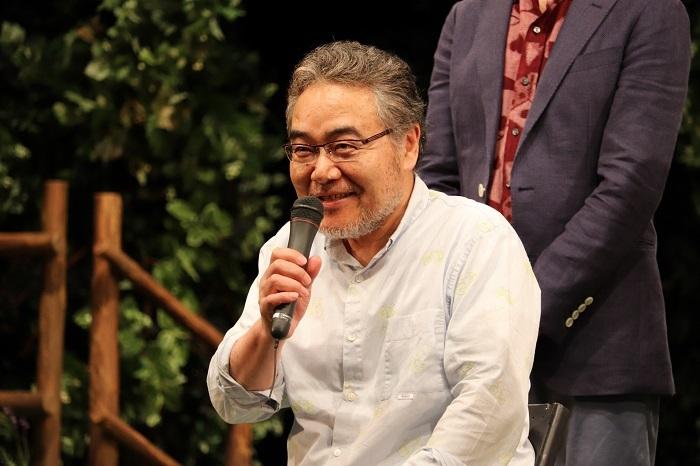 『二度目の夏』初日前会見 岩松了