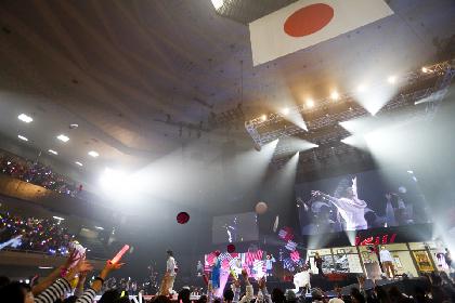 DISH// 歌にコントに多彩なパフォーマンスで魅せた5回目の元日武道館ライブ