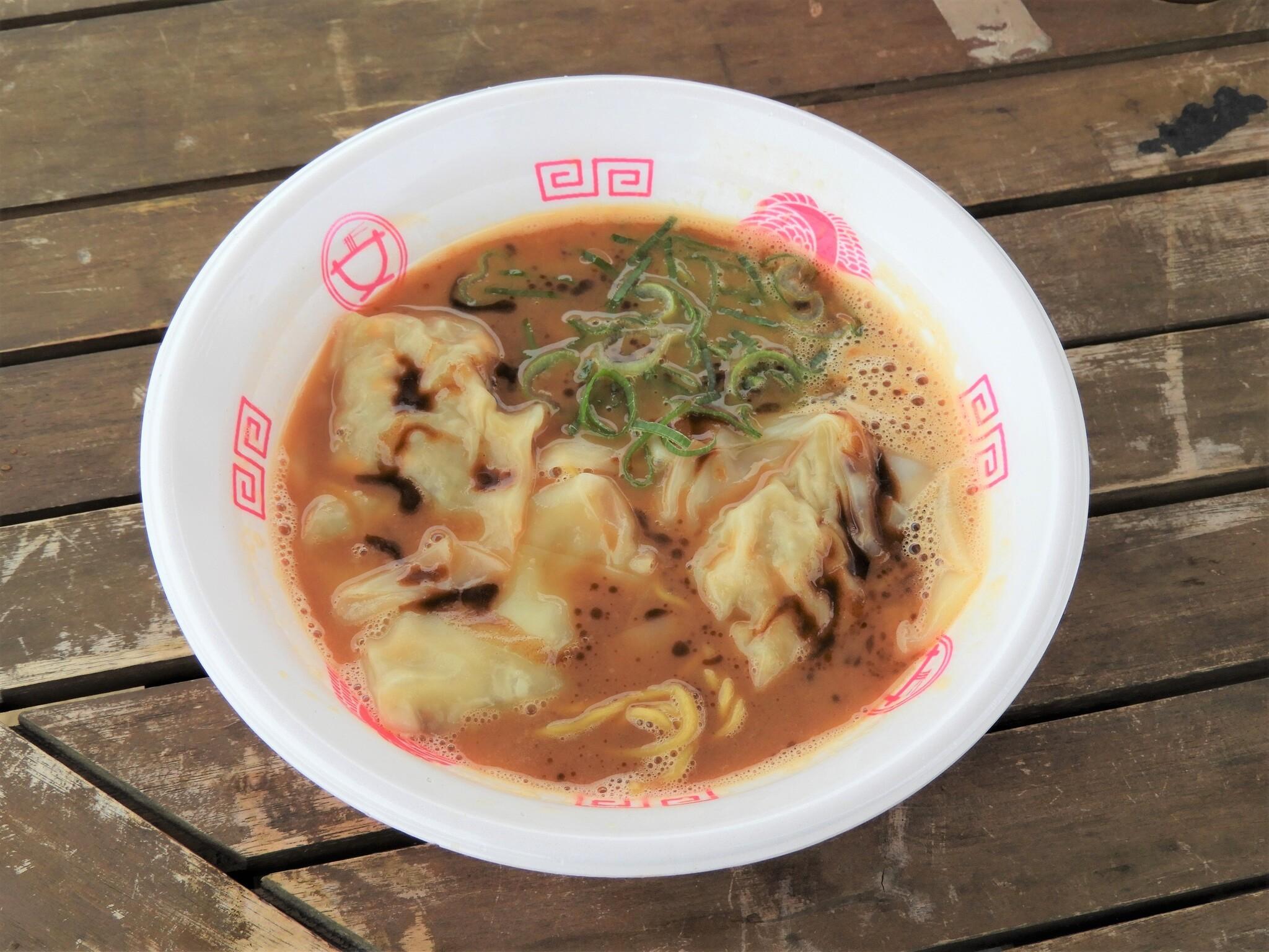 中華そば食堂IKR51『海老味噌ポルチーズワンタン麺』<大阪>