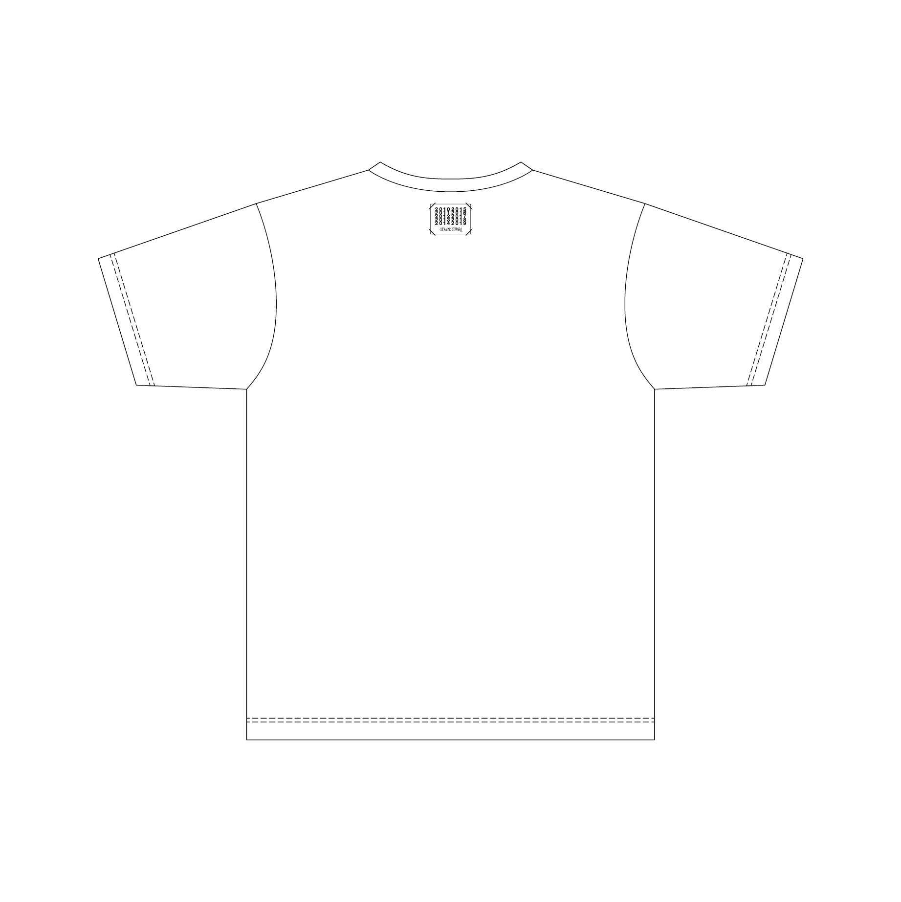「ベストアルバム発売記念グッズ」Tシャツ(ホワイト)Back