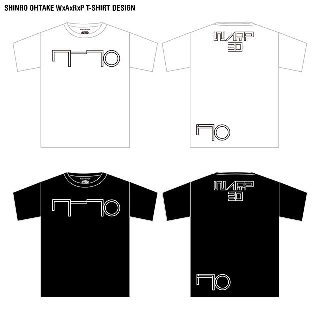 大竹伸朗×WARP Tシャツ