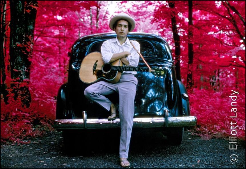 Bob Dylan: Photo by Elliot Landy